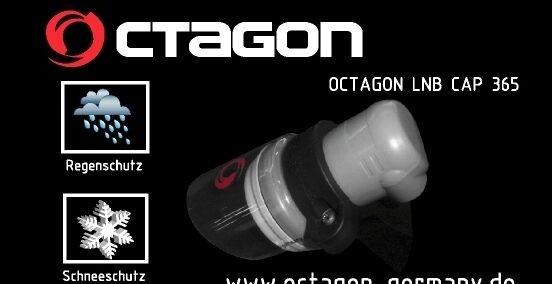 2x Octagon LNB Cap 365 Wetterschutz Regenschutz Schneeschutz Schutz Weltneuheit