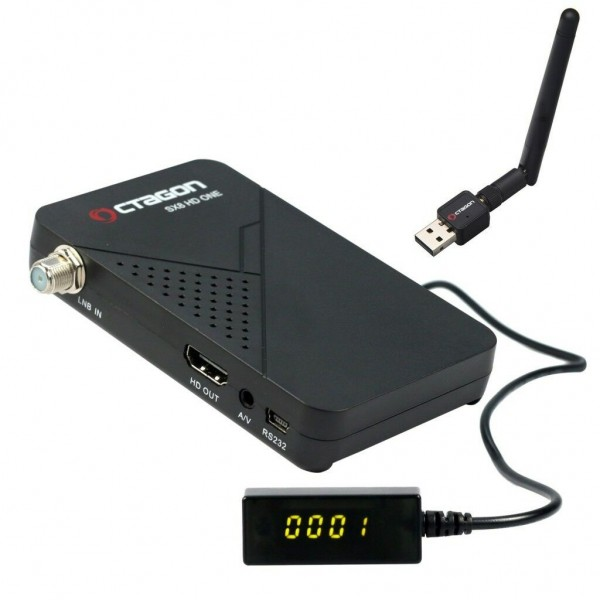 Octagon SX8 Mini Full HD DVB-S2 Sat Multistream X Wlan Antenne, Youtube, IPTV IP