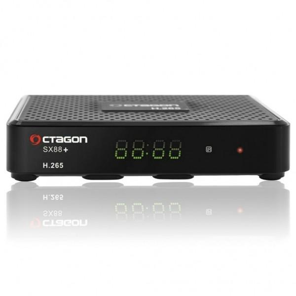 Octagon SX88+ CA HD HEVC Full HD Stalker IPTV Multistream Sat DVB-S2 Receiver